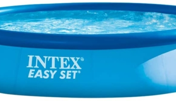 Intex Easy Set Pool – Aufstellpool 396cm x 84cm x 74cm