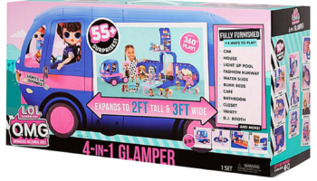 L.O.L. Surprise – 4-in-1 Glamper Electric Blue Spielzeug