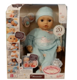 Zapf creation Baby Annabell Alexander Funktionspuppe